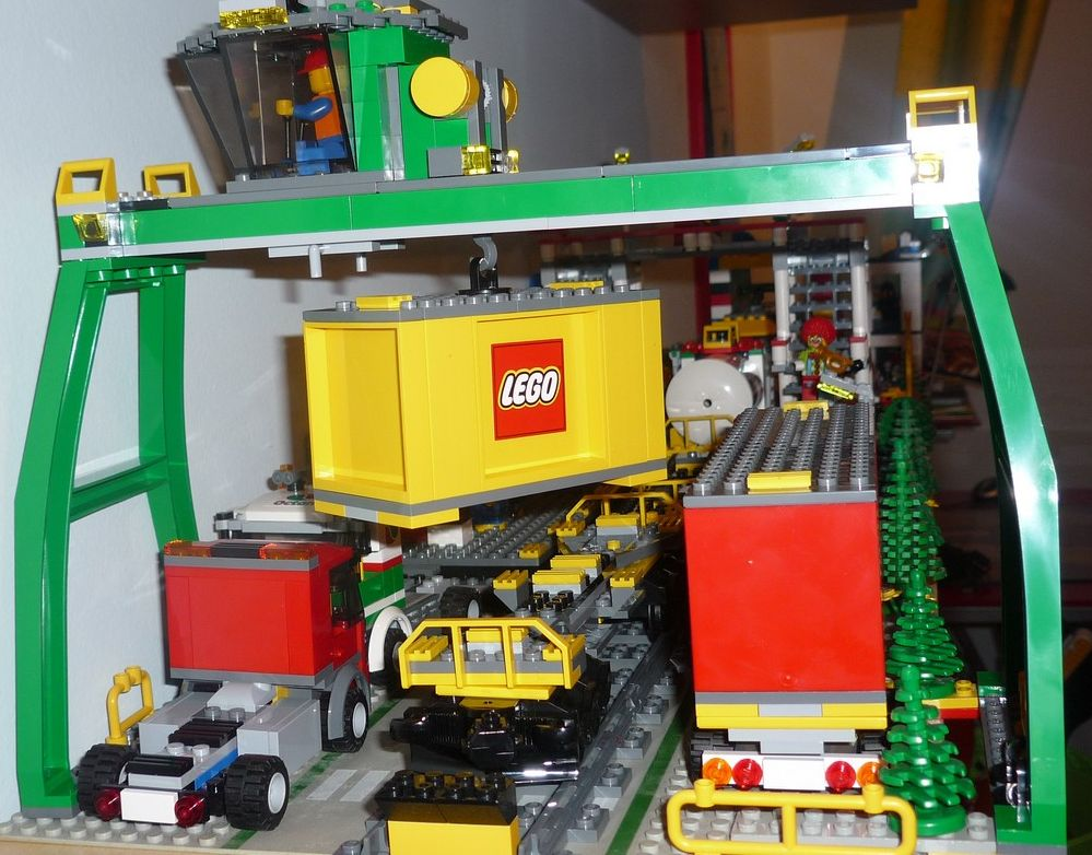 Lego City 7939 Cargo Train I Brick City