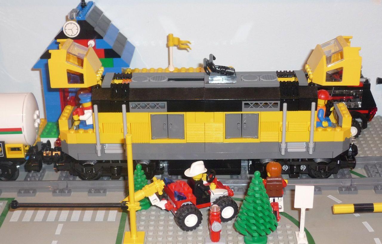 lego city train station 7937 instructions