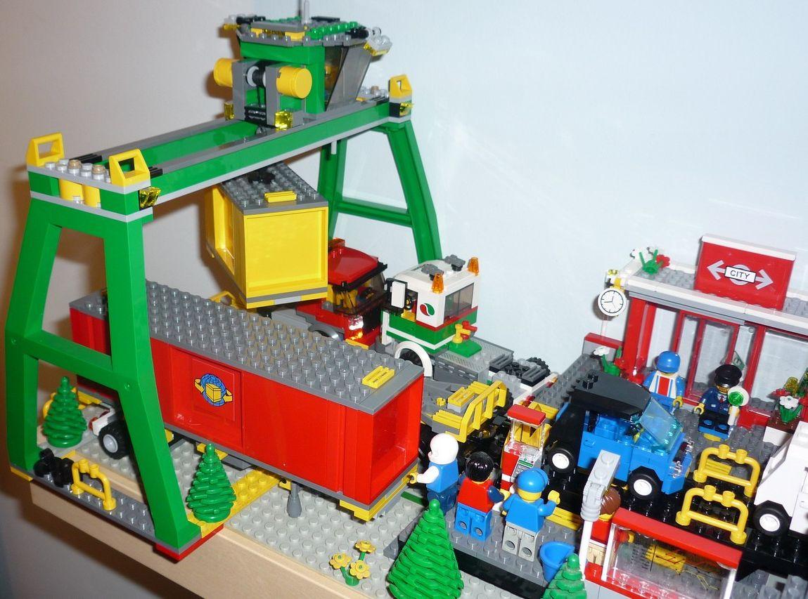 lego city 7939 cargo train i brick city. Black Bedroom Furniture Sets. Home Design Ideas