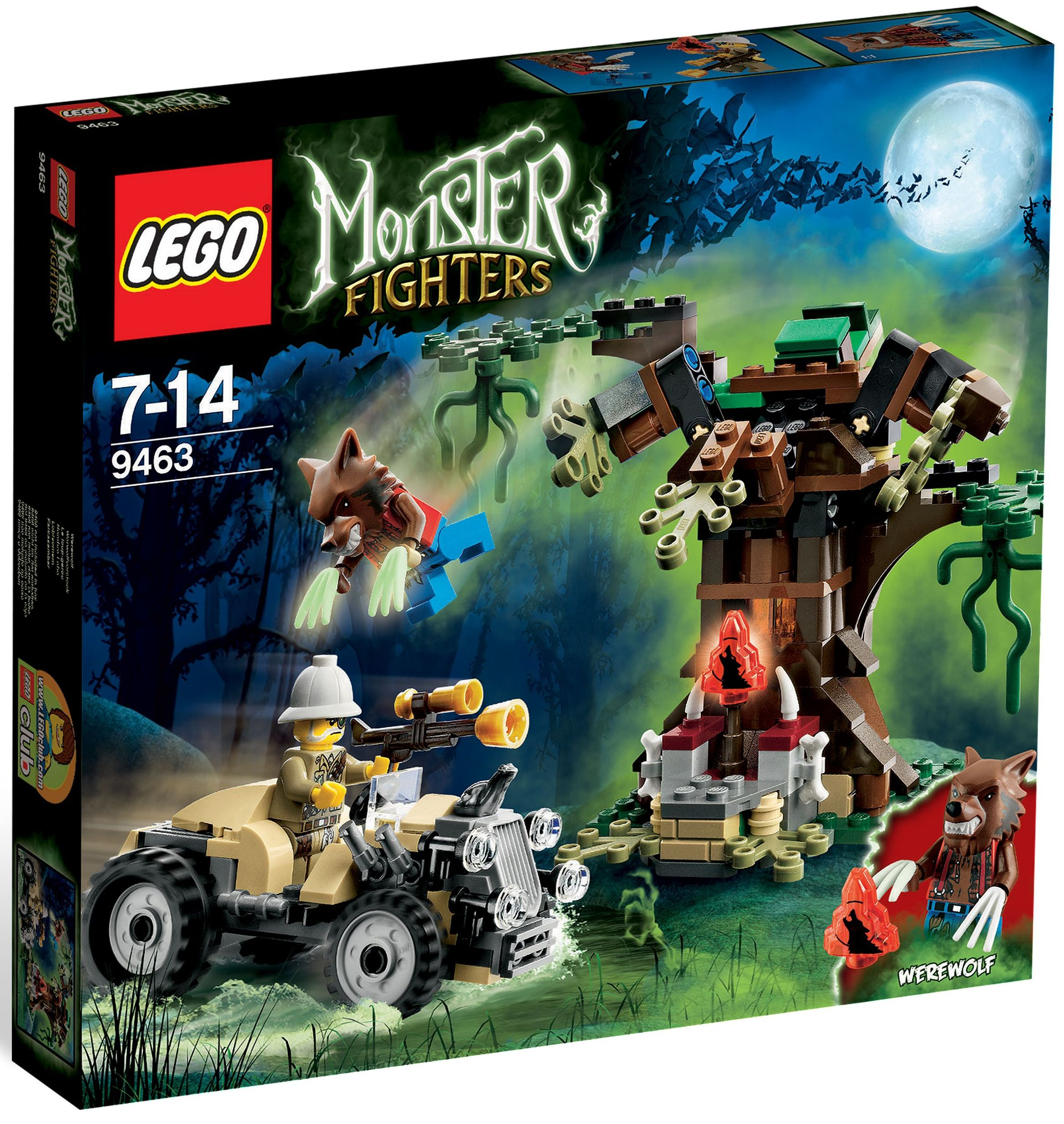 Lego monster fighters 9463 the werewolf i brick city