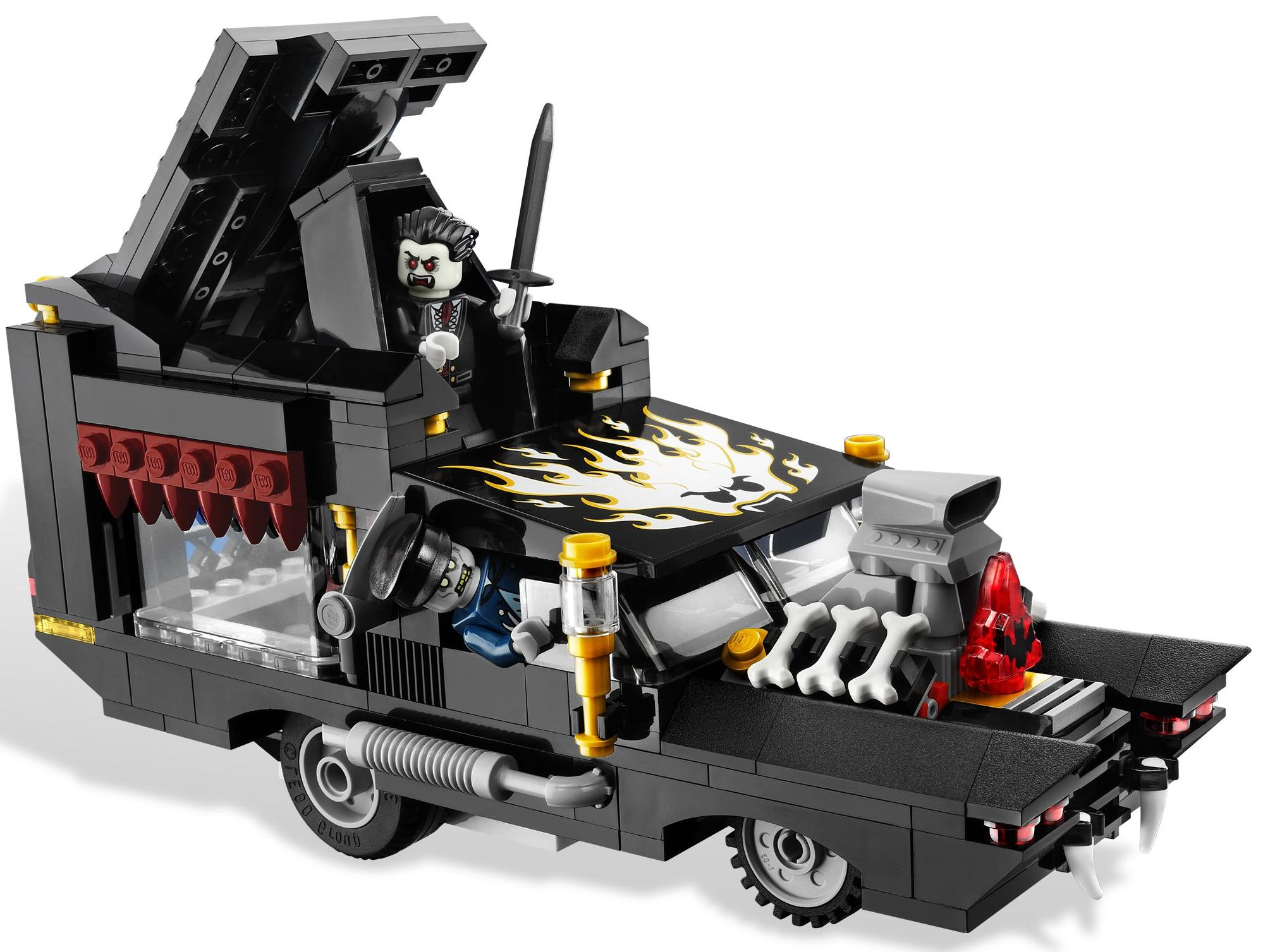 Lego monster fighters 9464 the vampyre hearse i brick city