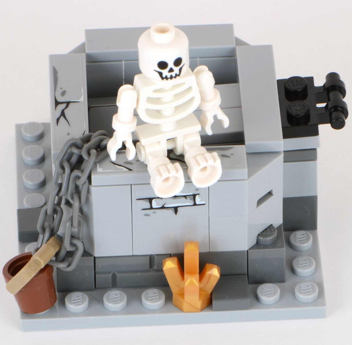Lego Lord Of The Rings Skeleton Sword