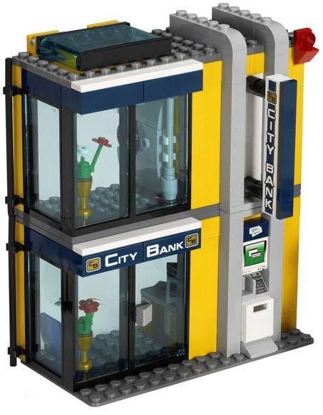 Lego City 3661 Bank And Money Transfer I Brick City