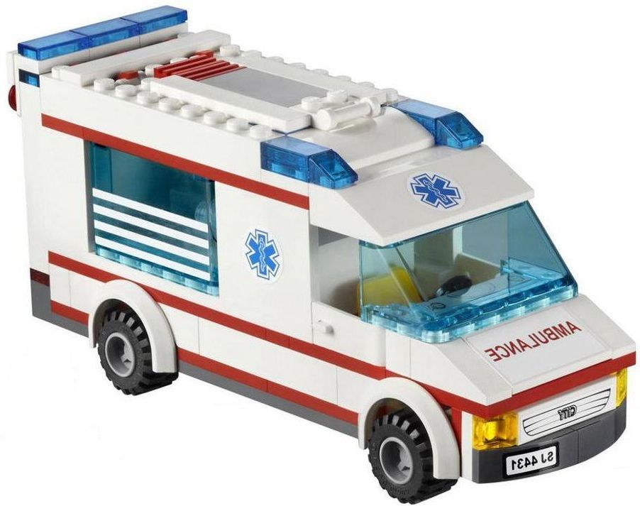 Lego 4431 ambulance  Lego City 4431   Ambulance