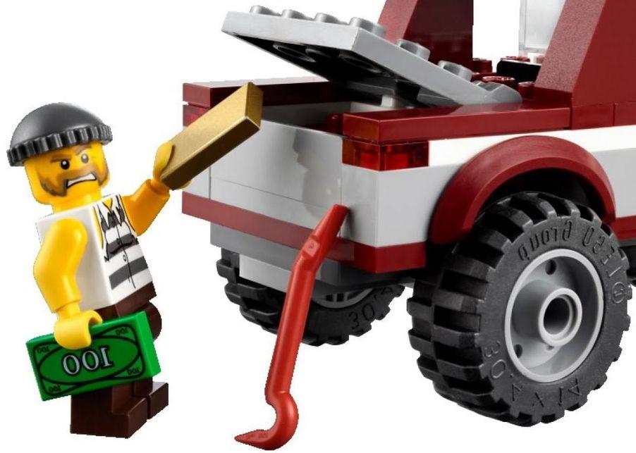 Lego City 4437 Police Pursuite I Brick City