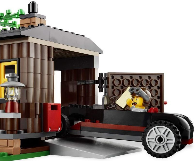 Lego 4438 Robber' Hideout garage Lego City 4438   Robber's Hideout