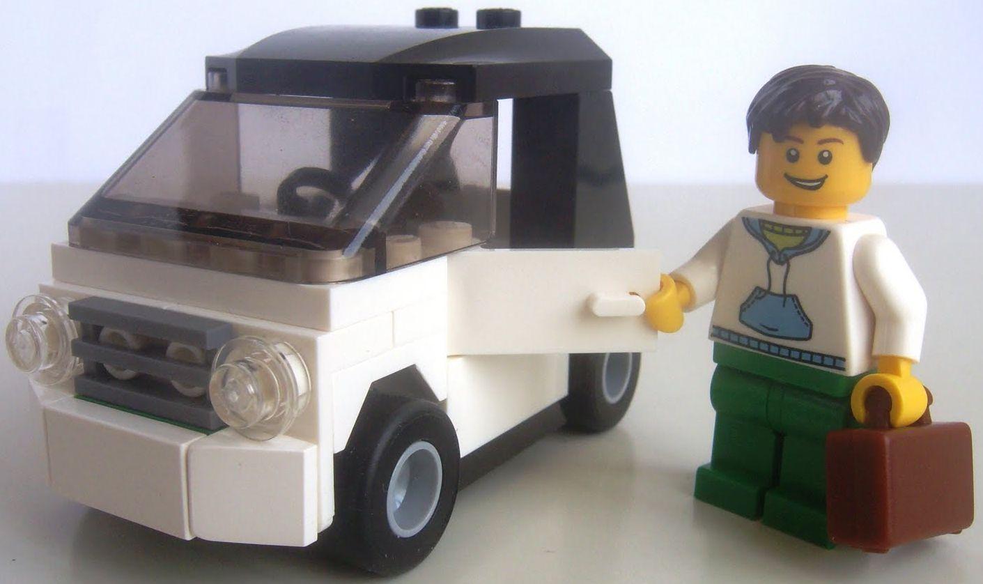 lego city small car instructions