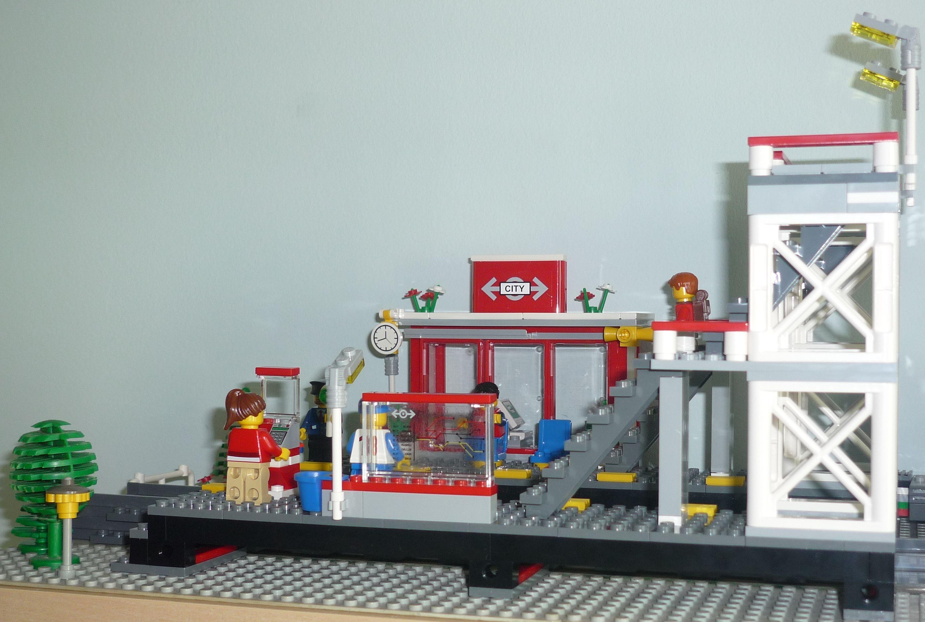 Lego City 7937 – Train Station | i Brick City