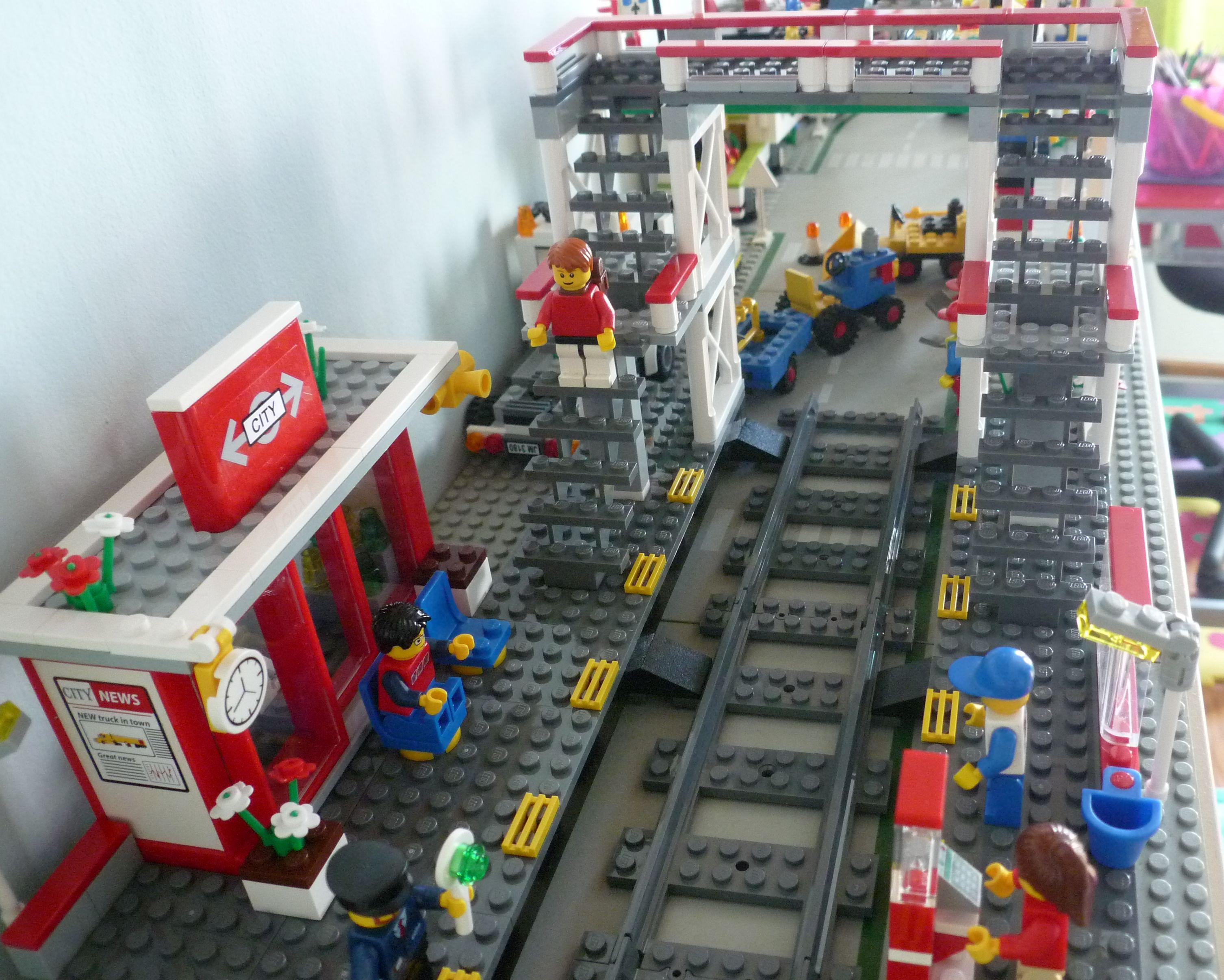 Lego City 7937 Train Station I Brick City