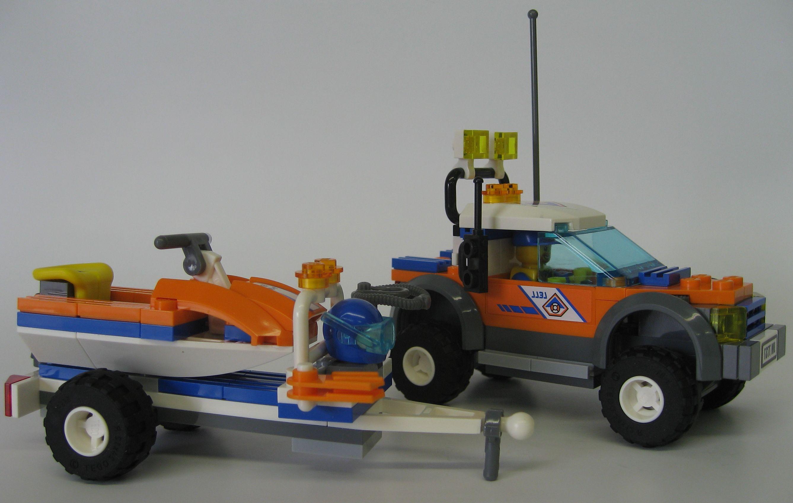 Как сделать прицеп для машины из LEGO видео