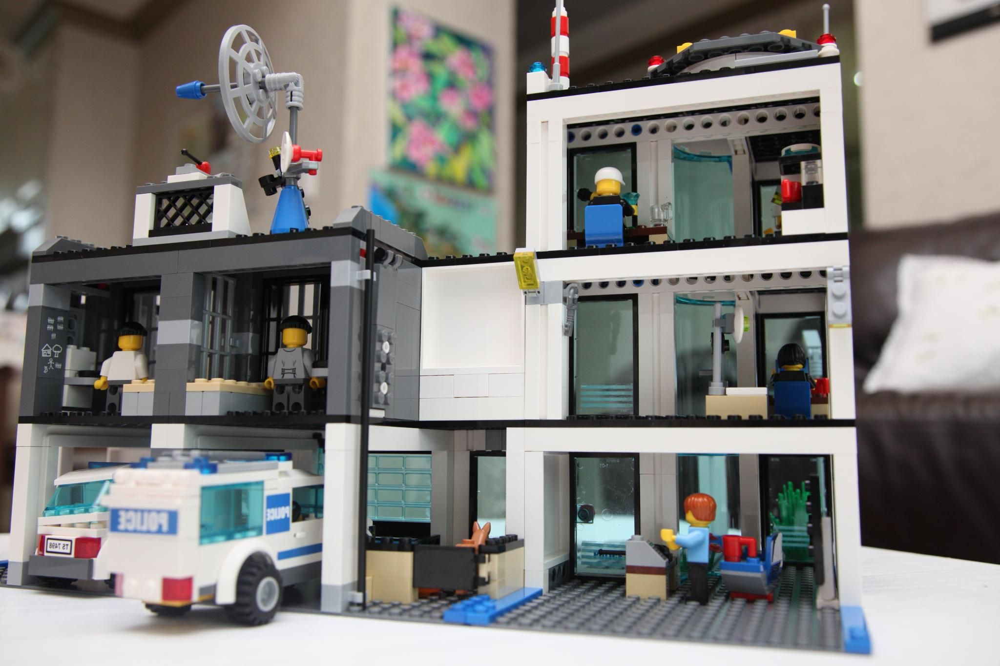 Lego City 7498 Police Station I Brick City