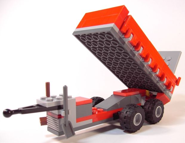 Lego Tractor Trailer : Lego city pig farm and tractor i brick