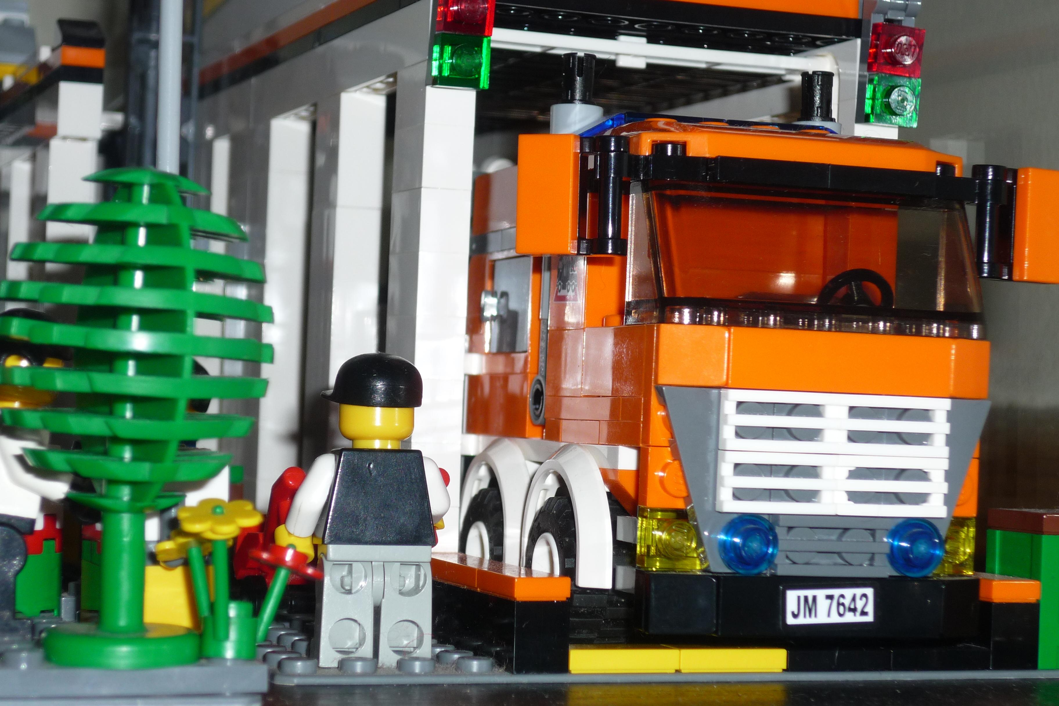 Lego City Garage : Lego city u garage i brick city
