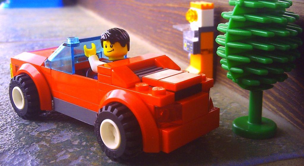 Lego City 8402 Sports Car I Brick City