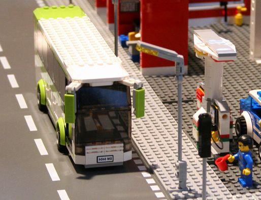 Lego City 8404 Public Transport Station I Brick City