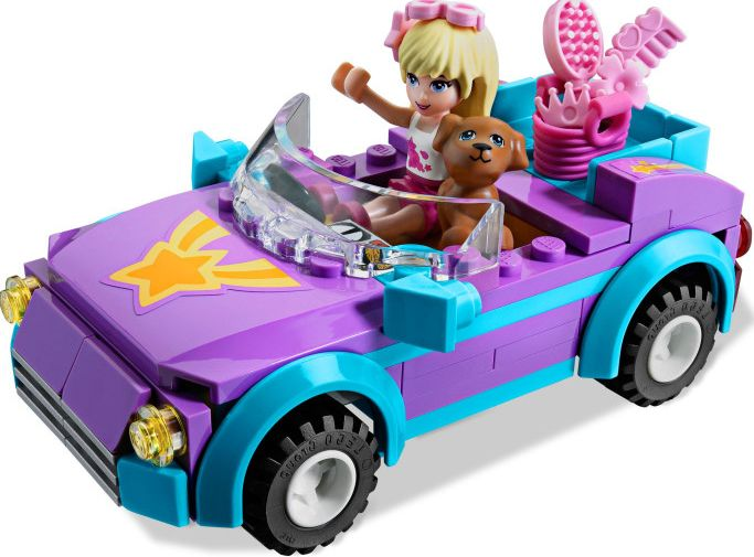 Lego Friends 3183 Stephanie S Cool Convertible I Brick