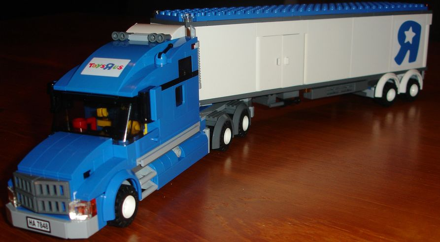 Lego City 7848 Toysrus City Truck I Brick City