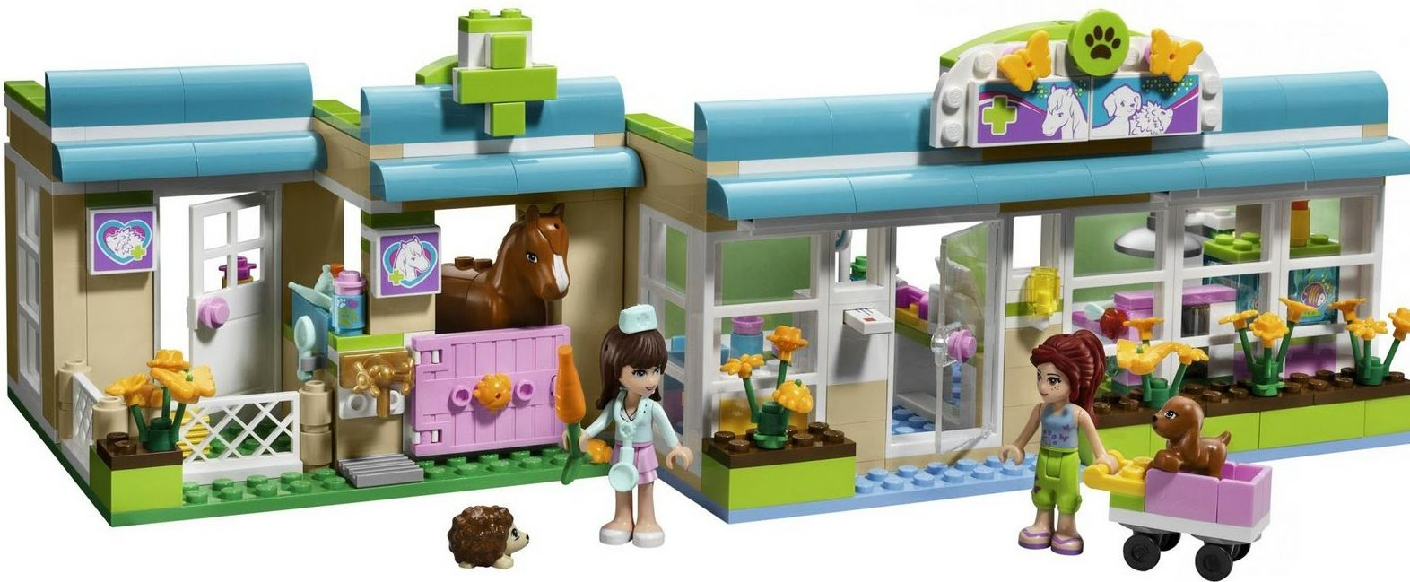 Lego Friends 3188 Heartlake Vet  Lego Friends 3188   Heartlake Vet