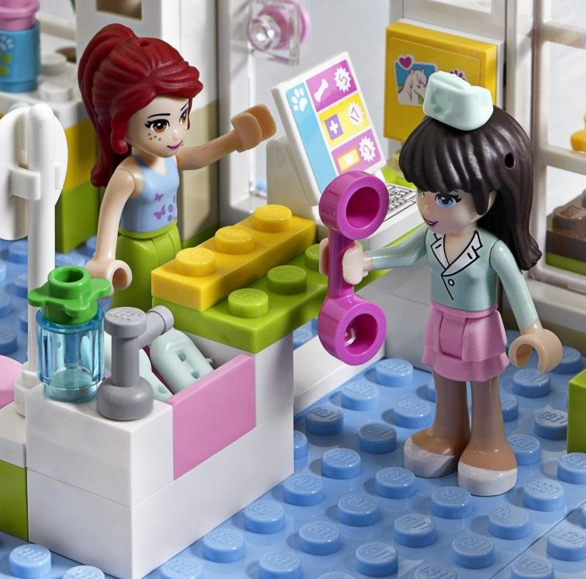 lego friends animal hospital instructions