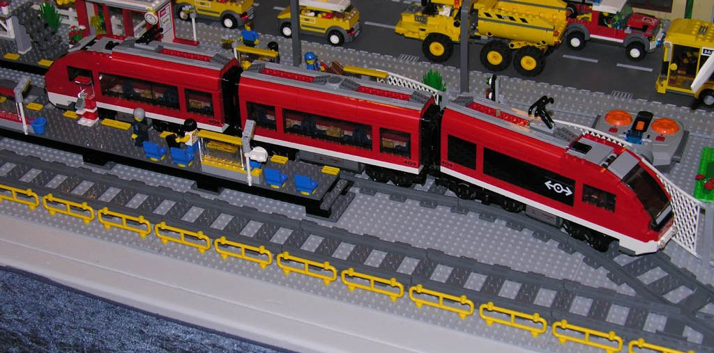 Lego City Train Station A Station Map And A Couple Building Lego