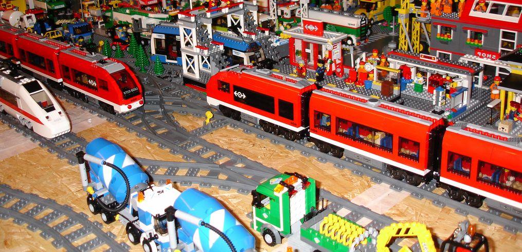 Lego City 7938 Passenger Train I Brick City