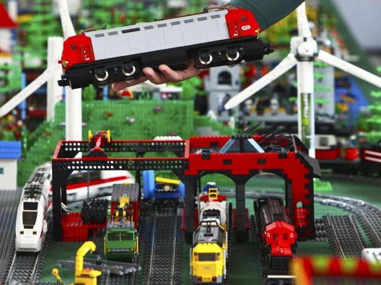 Lego MOC City   i Brick City