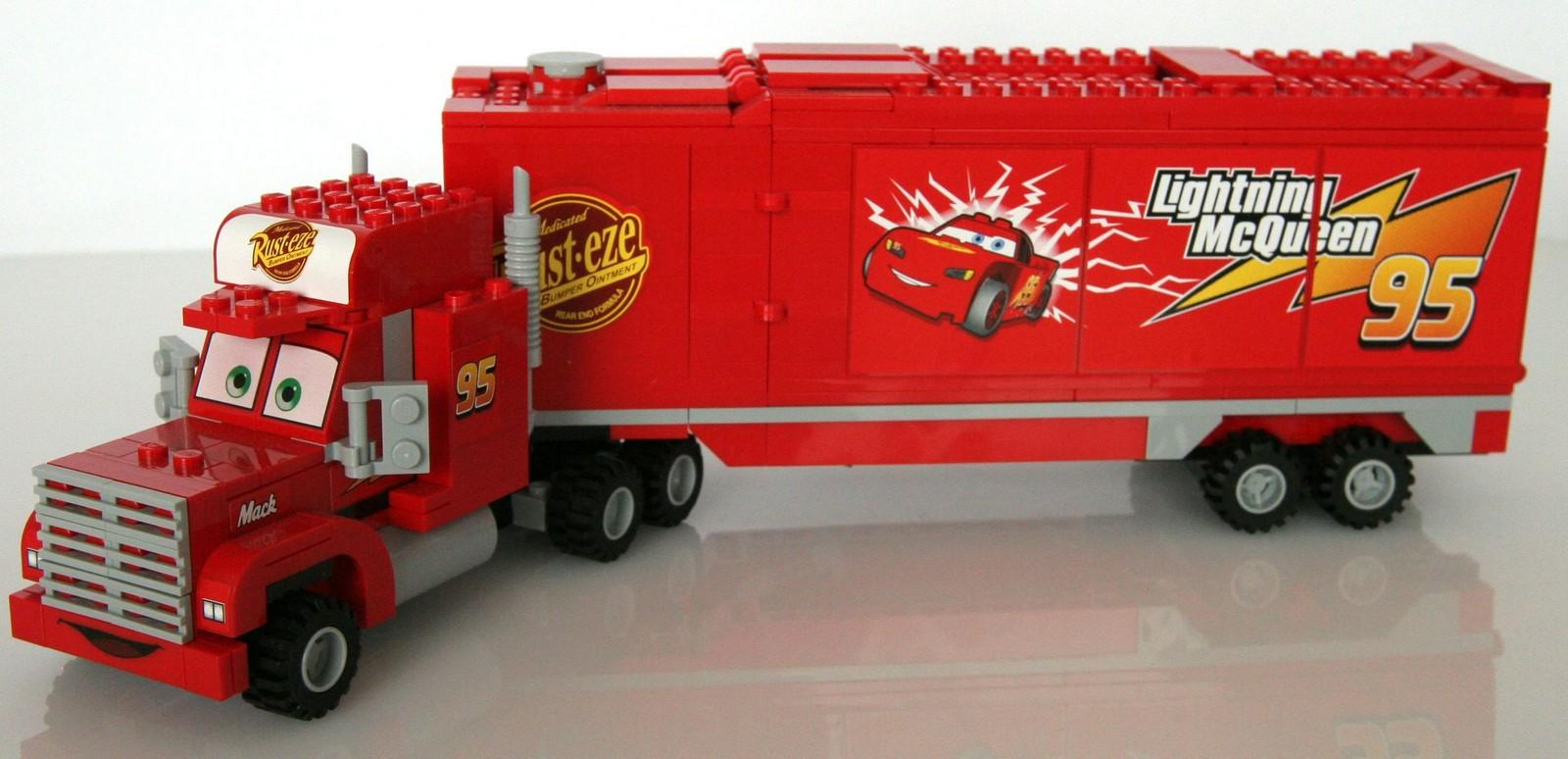 Lego Disney Cars Mack S Team Truck