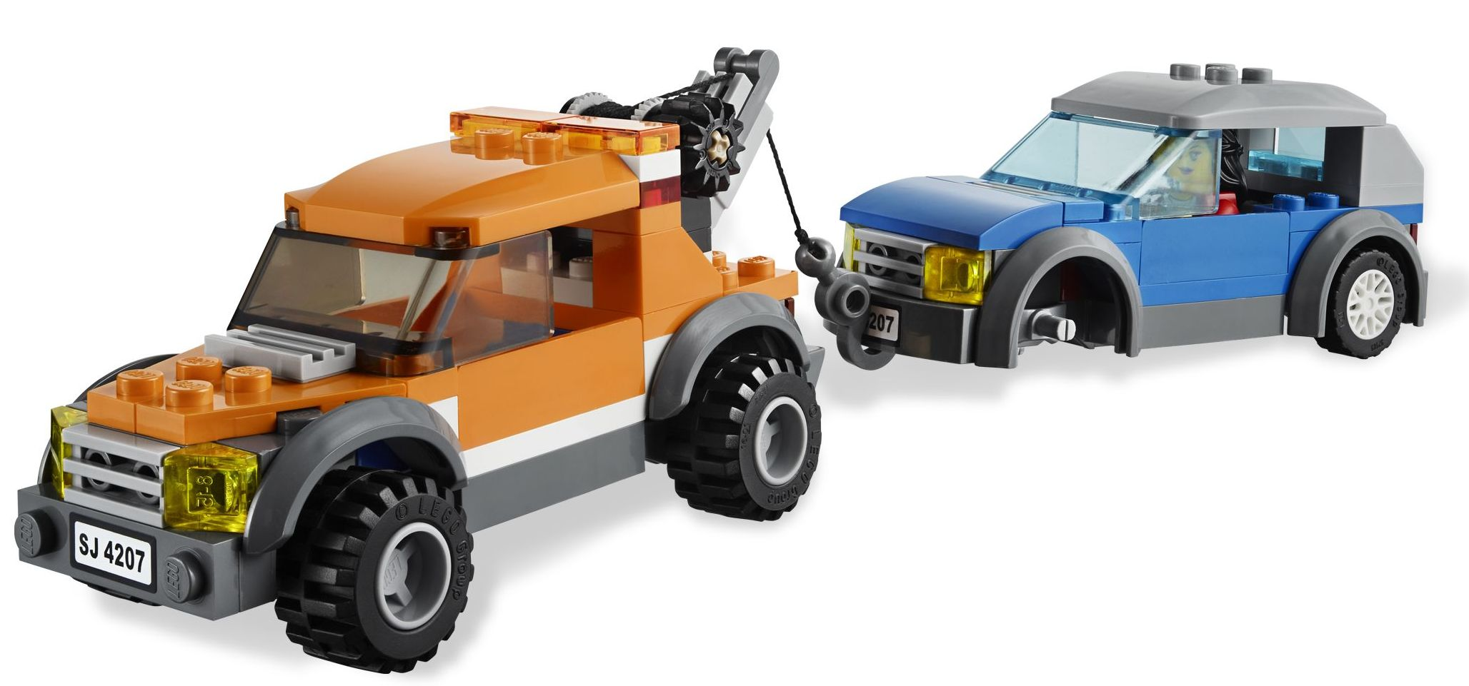 Lego City 4207 Garage Car Parking Released I Brick City