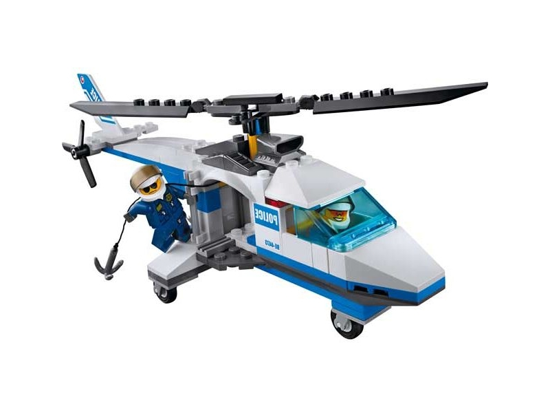 Lego City 4473 Police Helicopter I Brick City