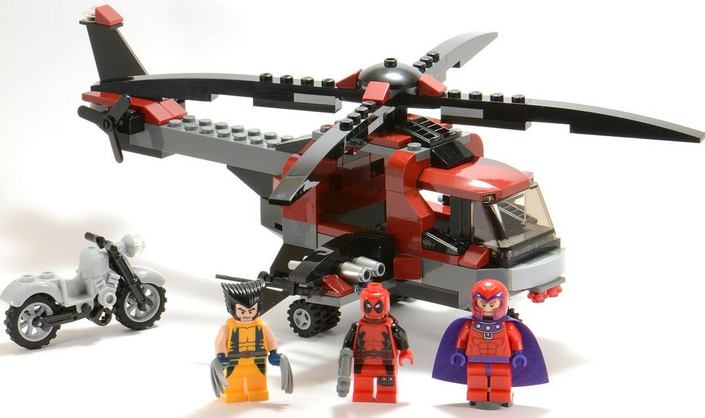Lego Super Heroes 6866 Wolverines Chopper Showdown I Brick City