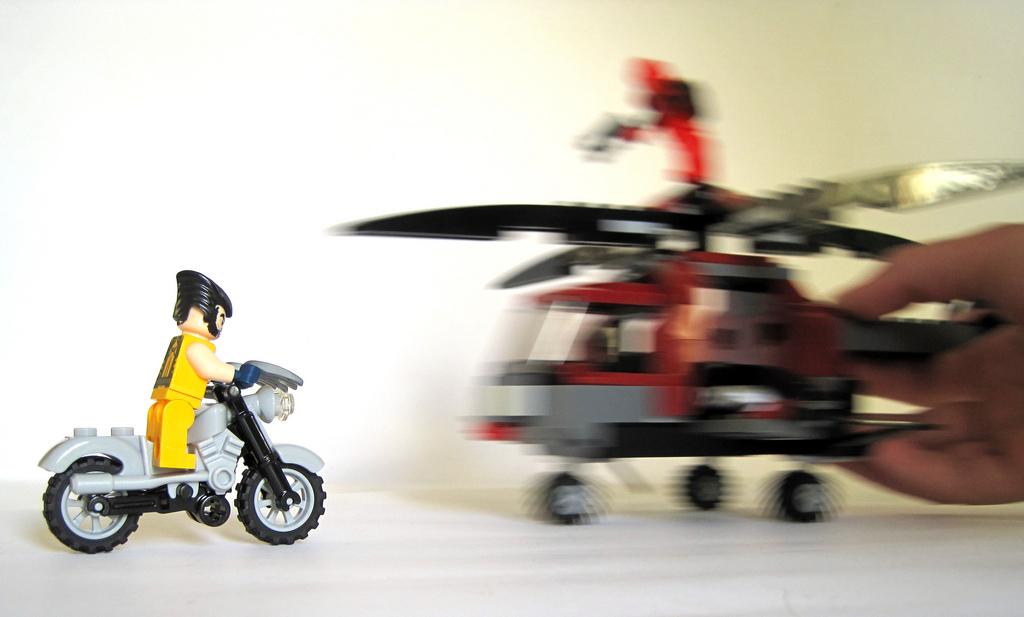 Lego Super Heroes 6866 Wolverines Chopper Showdown I Brick City