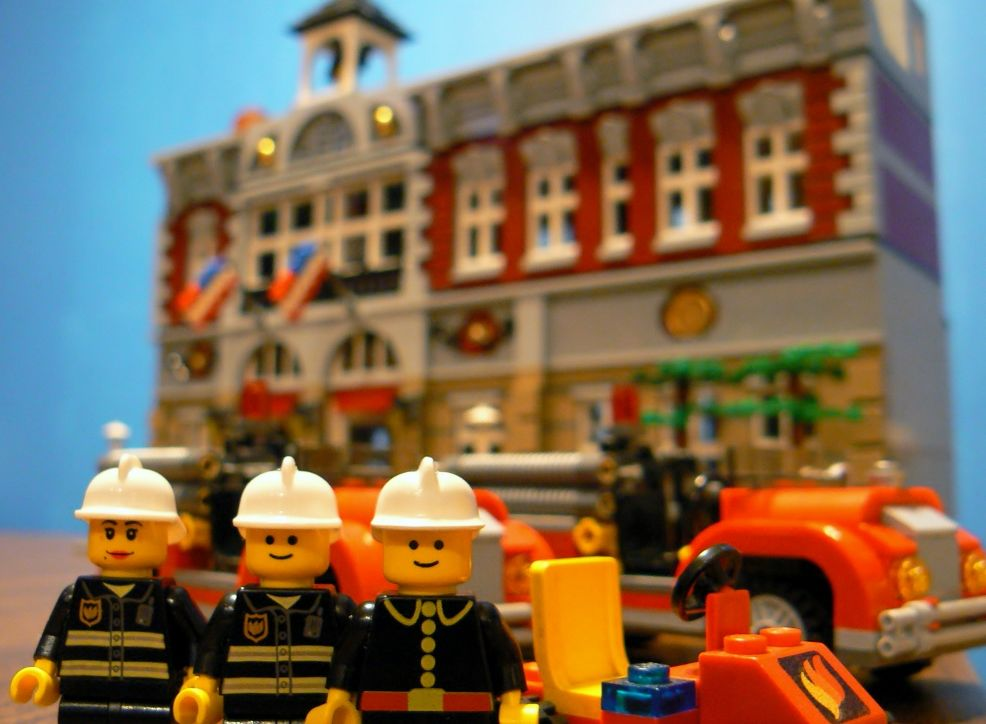 Lego 10197 Modular Building Fire Brigade I Brick City