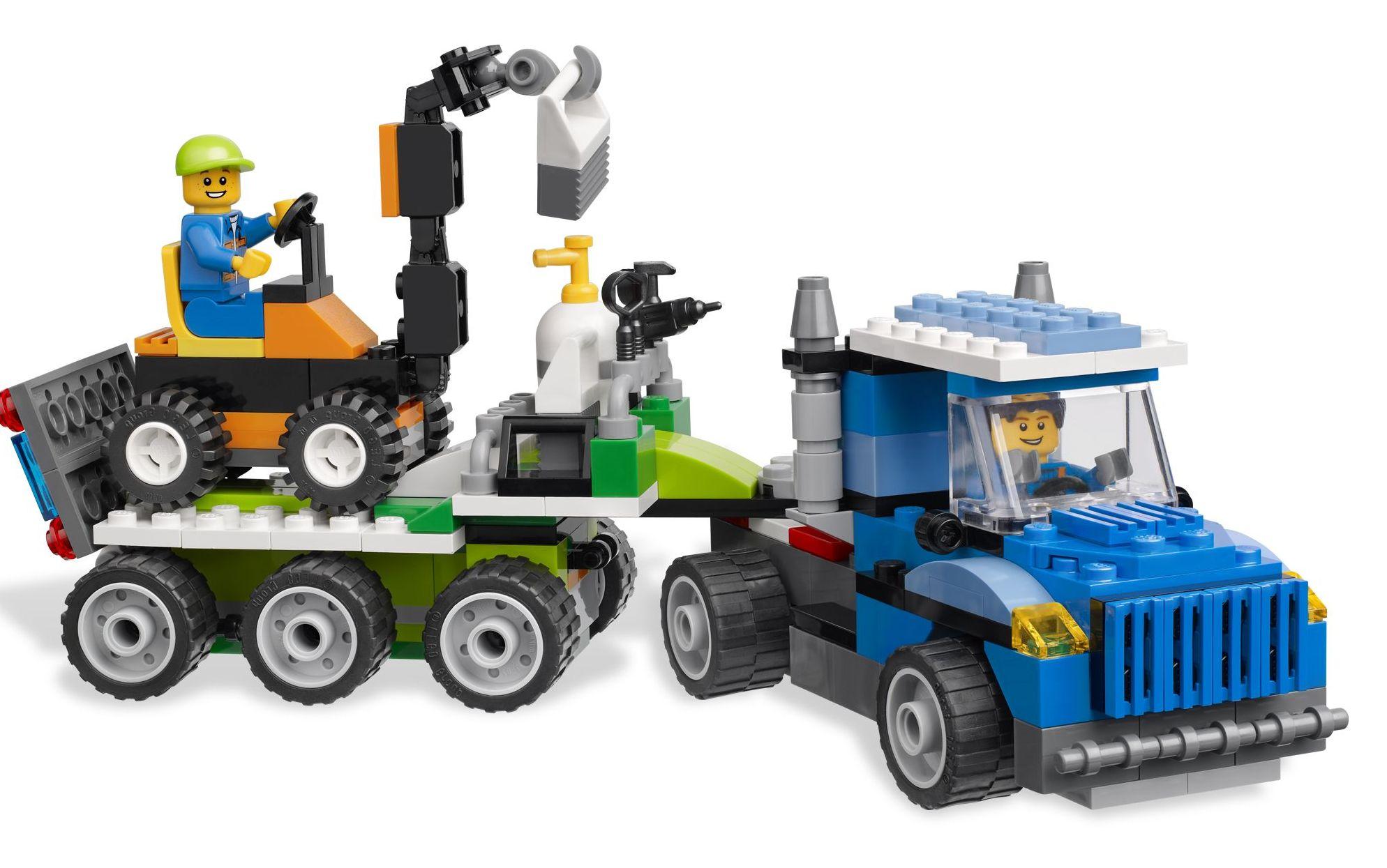 Lego 4635 Fun With Vehicles I Brick City
