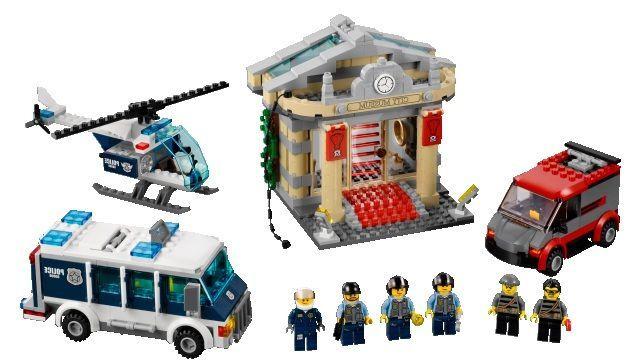 LEGO Museum Break-in Instructions 60008, City