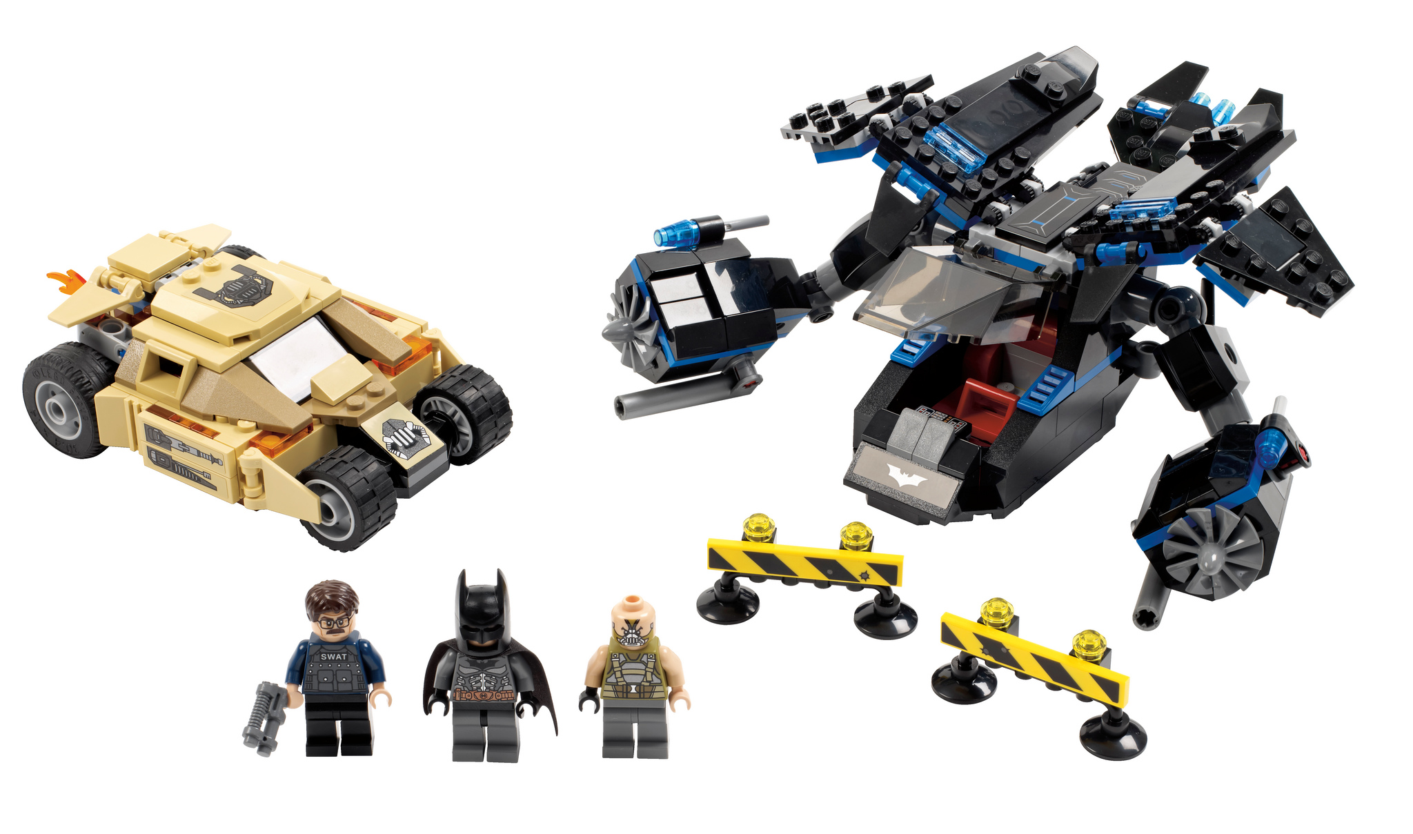 lego 76001 batman the bat vs bane tumbler chase i brick city. Black Bedroom Furniture Sets. Home Design Ideas