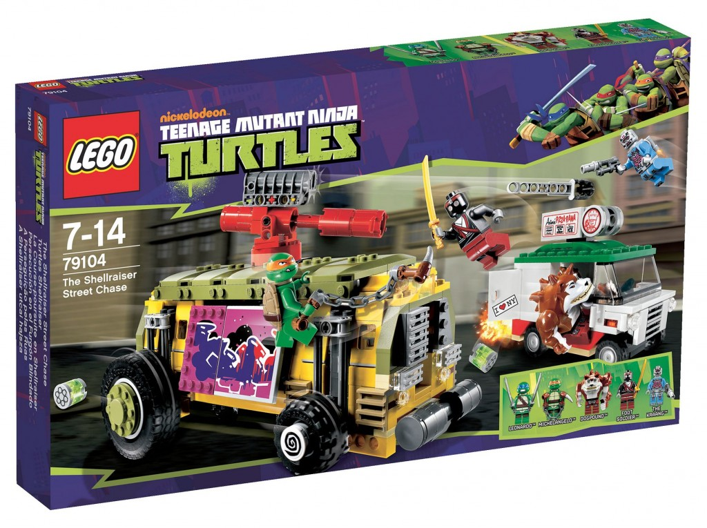 Lego 79104 Teenage Mutant Ninja Turtles The Shellraiser Street Chase ibrickcity 6 1024x765 Lego 79104 Teenage Mutant