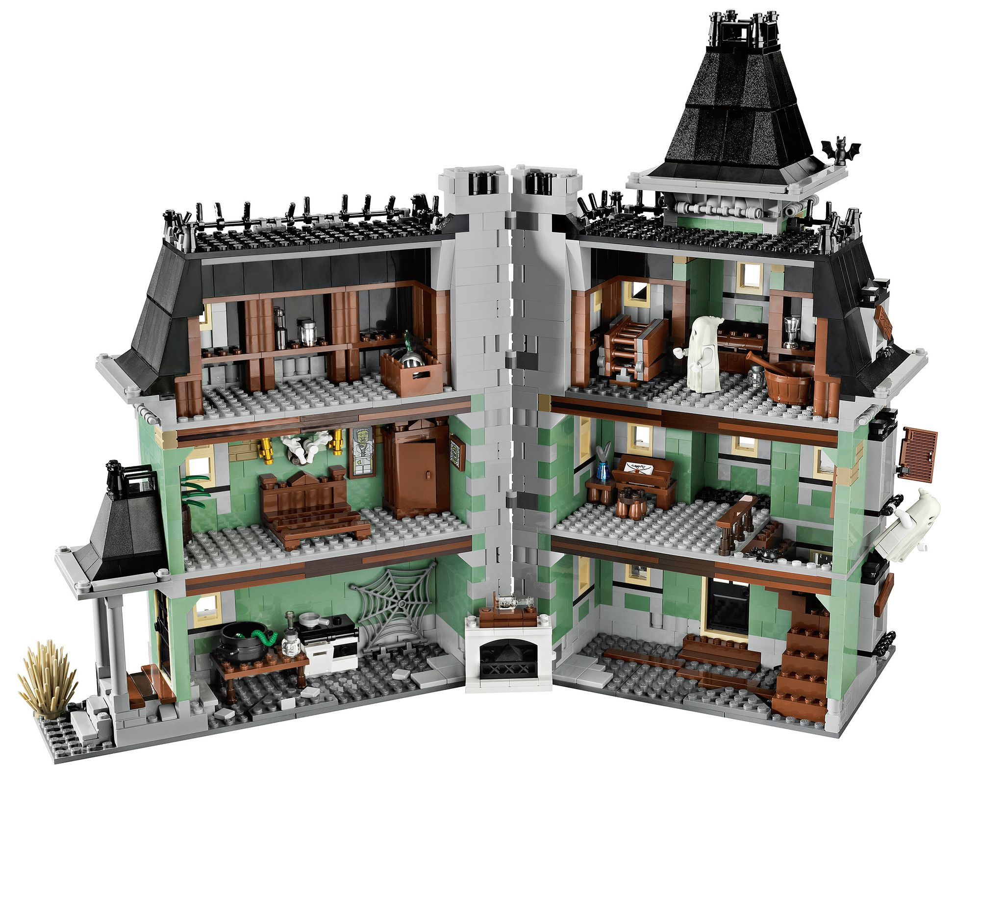 Lego Monster Fighters 10228 Haunted House legos