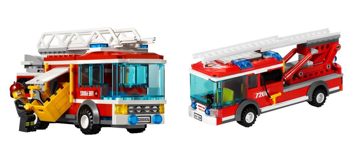 Lego City Fire Ladder Truck 60107 Airport Rescue Vehicle Rescue
