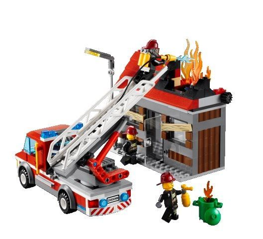 Lego City 60003 Fire Emergency Truck I Brick City