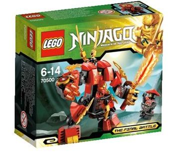 lego 70500 ninjago Kais Fire Mech ibrickcity Lego Ninjago – First available pictures of the 2013 sets