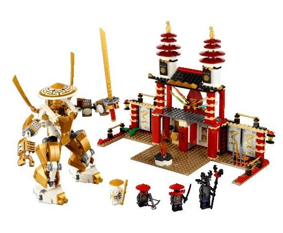 lego 70505 ninjago Temple of Light ibrickcity 1 Lego Ninjago  First available pictures of the 2013 sets