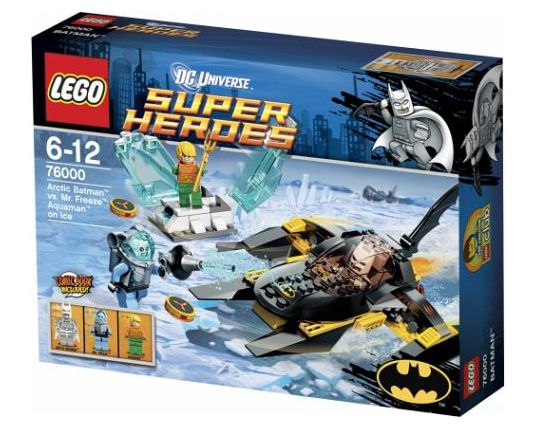 Lego Super Heroes 76004 and 76000 - 60.6KB