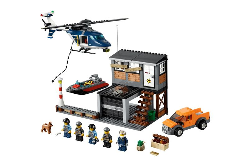 Lego 60009 City Helicopter Arrest ibrickcity 1 Lego 60009 City   Helicopter Arrest