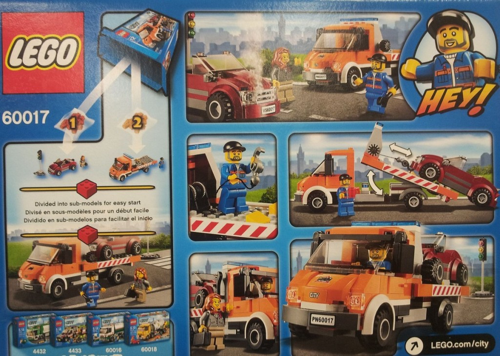 Lego 60054 Building Instructions
