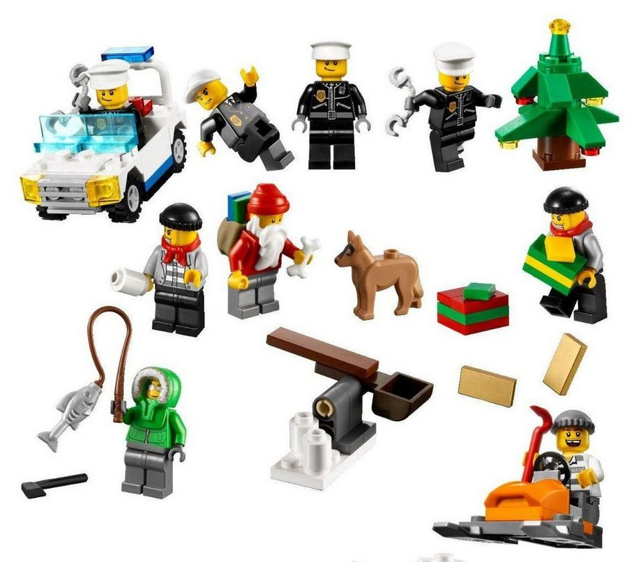 Lego 7553 City Advent Calendar I Brick City