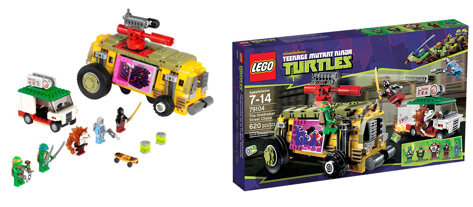 Lego Teenage Mutant Ninja Turtles Pictures From All Sets I