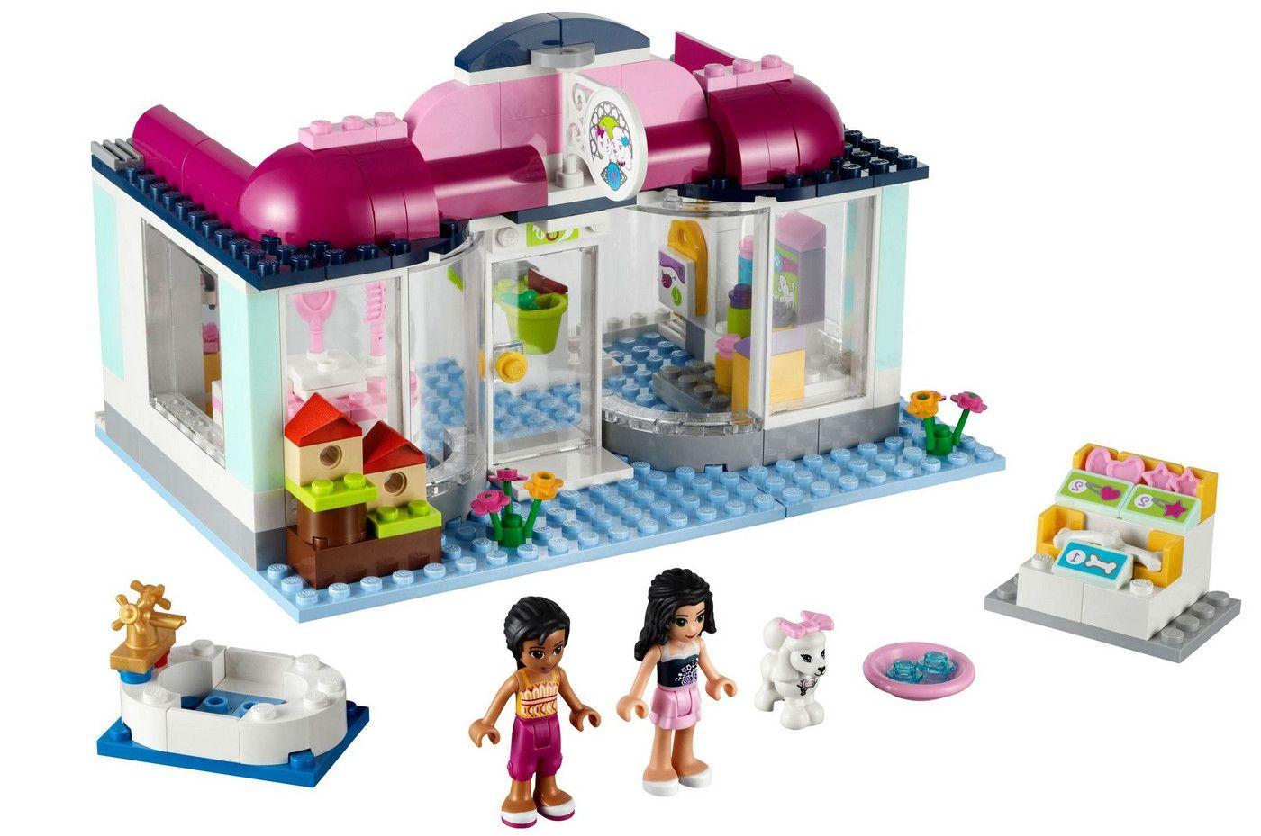 Lego 41007 Friends Heartlake Pet Salon I Brick City