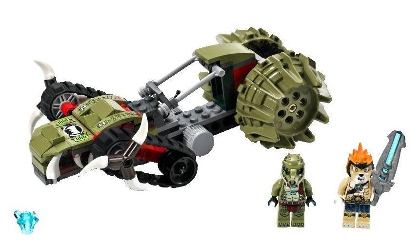 lego chima crocodile legend beast instructions