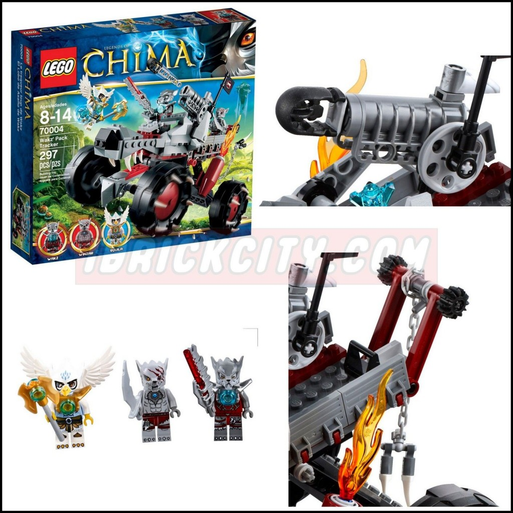 Lego 70004 Wakz Pack Tracker legends of chima ibrickcity 16 1024x1024 Lego 70004   Wakz Pack Tracker
