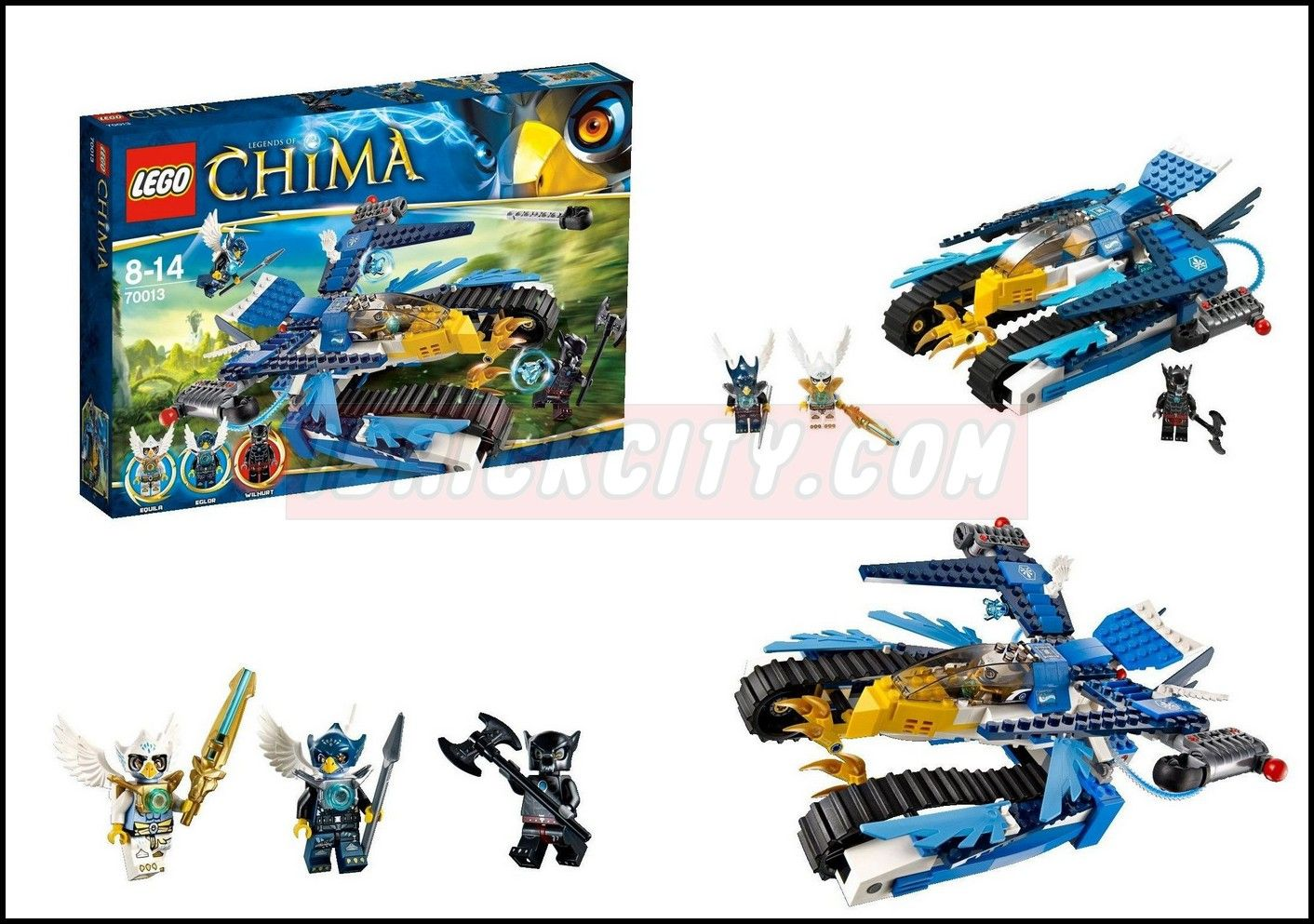 Lego 70013 Legends of Chima Equila Ultra Striker ibrickcity 6 1024x720
